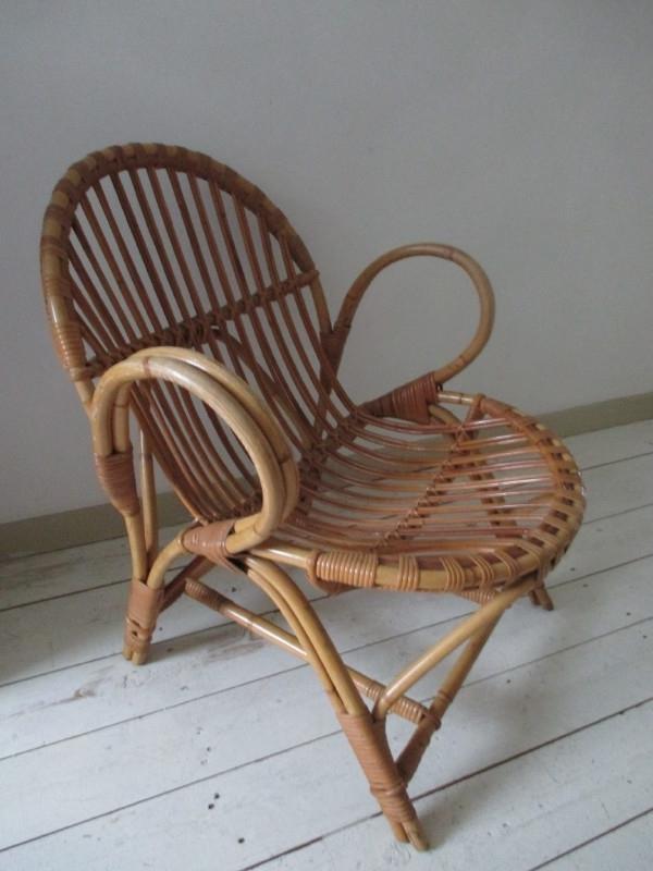 Retro Rotan Kinderstoeltje.Oude Rotan Kinderstoel Vintage Sold Sold Sjebbiez