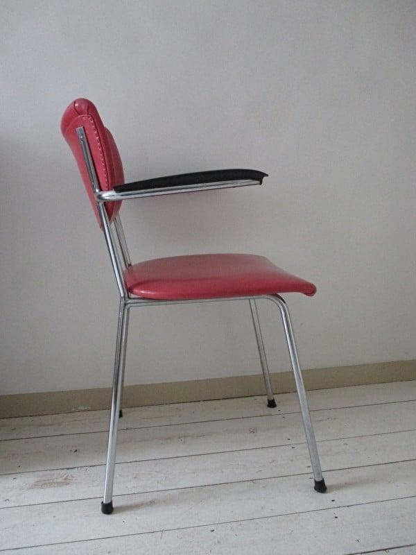 Vintage Bureaustoel De Wit.Vintage Bureaustoel De Wit Sold Sold Sjebbiez