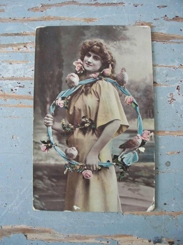 Antieke postkaart