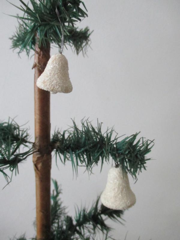Oude antieke kerstballen/klokjes SOLD
