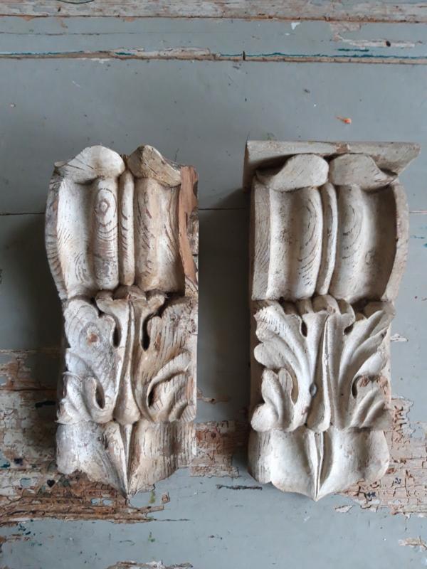 Oude Franse ornamenten SOLD