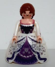 Prinses paars wit