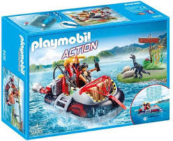 Hovercraft met onderwatermotor 9435