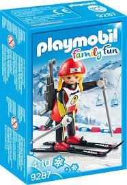Biatlete skier 9287