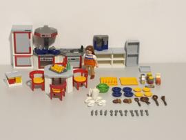 Moderne keuken rood (13265)
