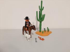 Sherrif met paard (13649)