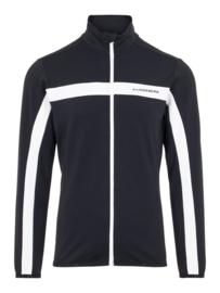 J. Lindeberg Jarvis Brushed Fieldsensor Jacket Zwart