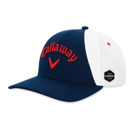 Callaway Ball Park Logo Cap Navy/Wit/Rood