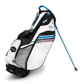 Callaway Hyperlite 3 custom golftas wit/zwart/blauw