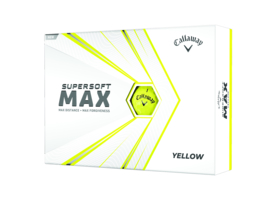 Callaway supersoft MAX Yellow (v.a. € 1,54 per bal)