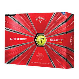 Callaway Chrome Soft Yellow (v.a. € 2,42 per bal)