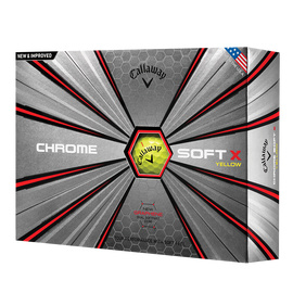 Callaway Chrome Soft X Yellow (v.a. € 2,42 per bal)