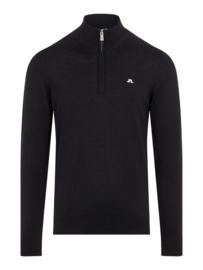 J. Lindeberg Kian Tour Marino Sweater Zwart