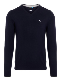 J. Lindeberg Lymann Tour Marino Knitted Pullover Navy