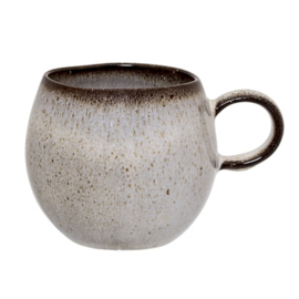 Sandrine Cup, Grey, Stoneware