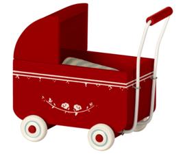 Kinderwagen  MY, helemaal rood