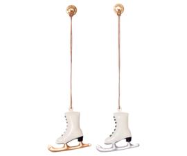 Metalen Hanger schaats, zilver