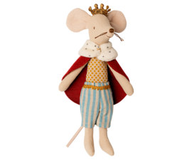 King mouse met snor