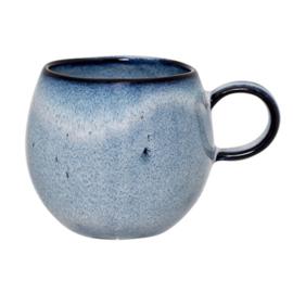 Sandrine Cup Blue, Stoneware