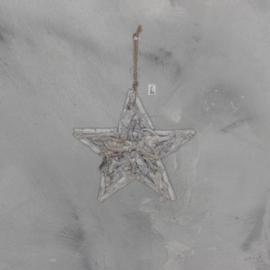 Houter ster, vergrijsd 30 cm