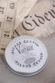 Vintage Wax, Light Grey, blikje 50 ml