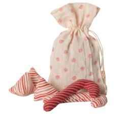 Kerstsnoep in een zakje