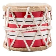 Drum, Red Stripes