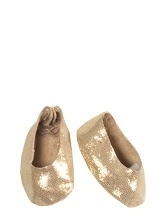 Medium, Ballerina goud +haarband