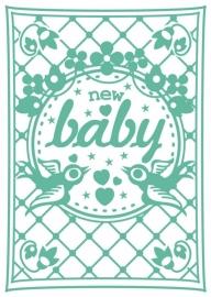 Kaart New Baby