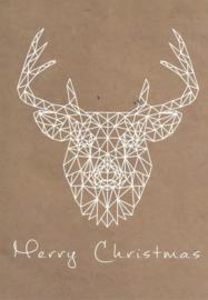 97 0024 - Luxe wenskaart kerst