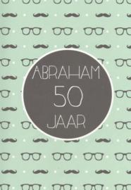40 5002 - Luxe wenskaart abraham
