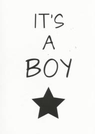 04 0003 - Geboorte zoon Lifestyle Zwart/Wit