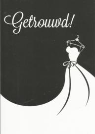 07 0007 - Huwelijk Lifestyle Zwart/Wit