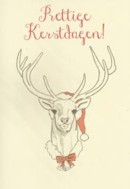 97 0003 - Luxe wenskaart kerst