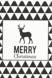 97 0021 - Luxe wenskaart kerst