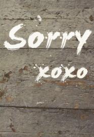 39 0001 - Sorry Lifestyle Kleur