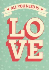 12 0015 - Vriendschap / Liefde / Relatie Lifestyle Kleur