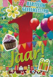 43 00105 -  Verjaardag 1 jaar
