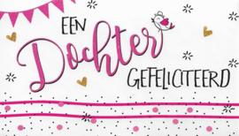 89 0006 - Cadeau envelop geboorte dochter