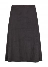 Skirt Balou suedine black