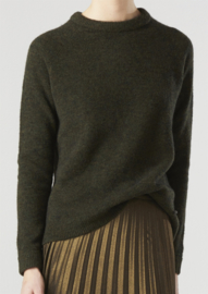 Estelle Sweater Green Mélange
