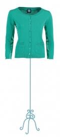 Vest Bente sea green