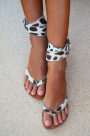 Lynn Strap Leopard Cream HOT LAVA