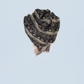 Sjaal met slangen print