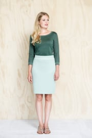 Skirt Emy graded jade LE PEP