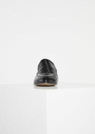Aspen Loafers Black Croco