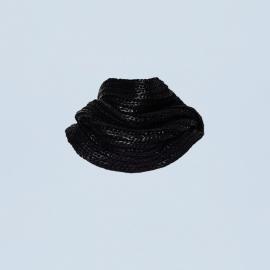 Black washed col Darcelle
