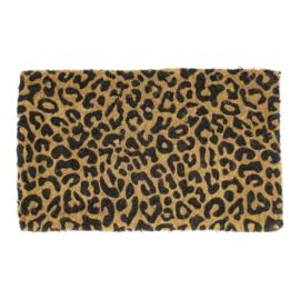 Deurmat Kokos Leopard