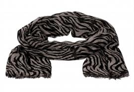 Sjaal met zebraprint