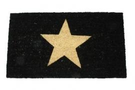 Deurmat ster